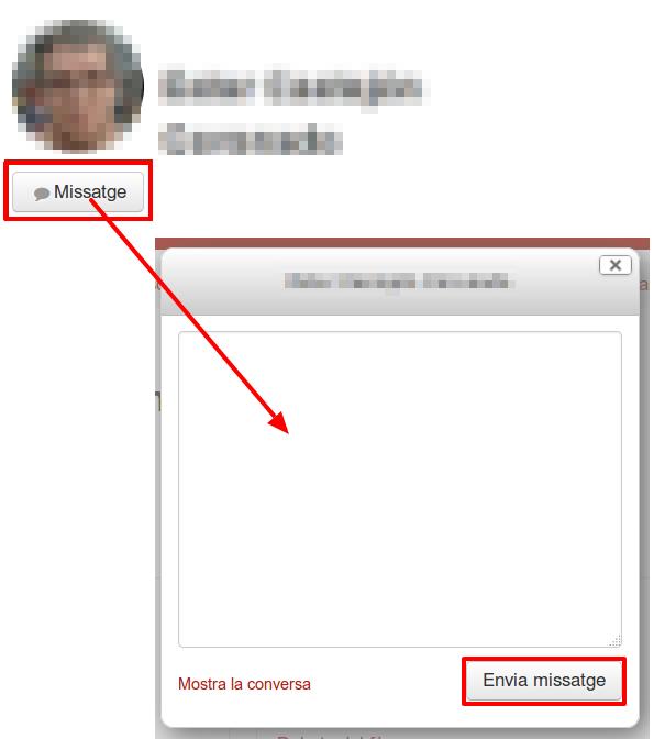 missatgeria interna
