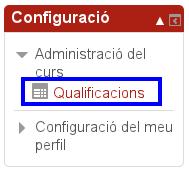 consultar el qualificador